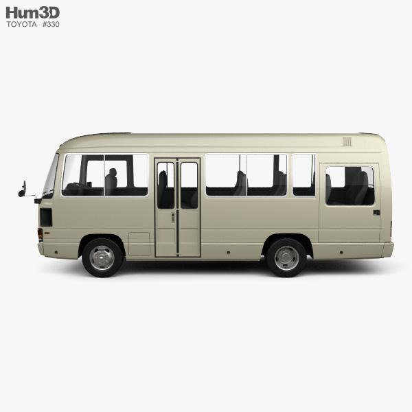 Toyota Coaster Bus 1983 3D model