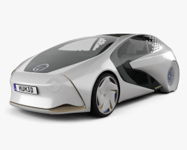 3D model of Toyota Concept-i 2017