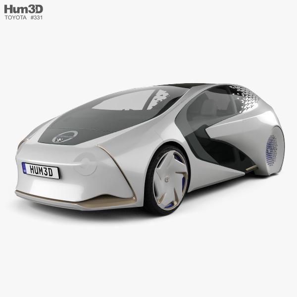 Toyota Concept-i 2017 3D model