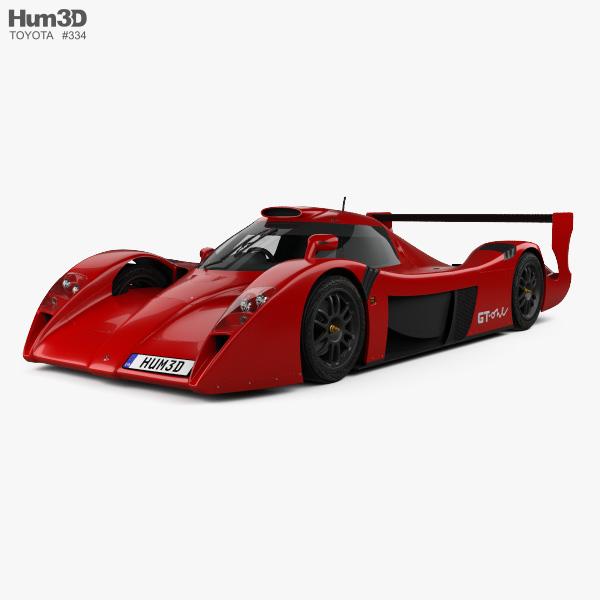 Toyota GT-One Road Car 1999 3D model