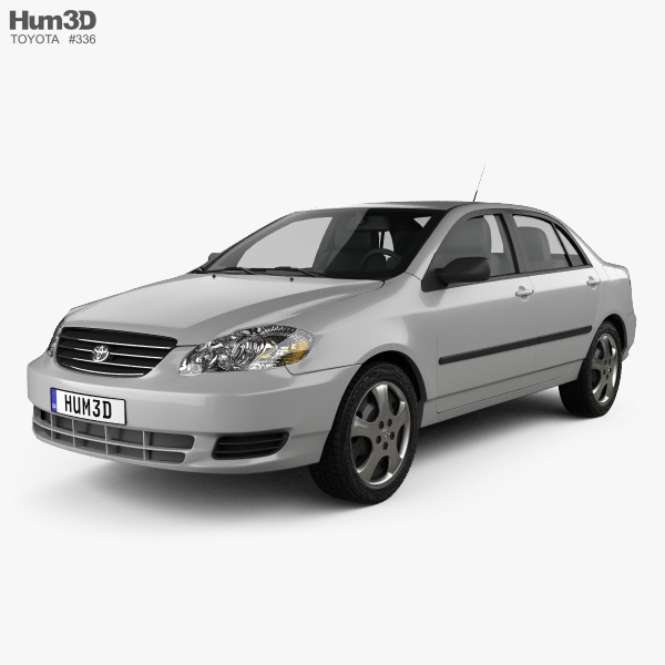 Toyota Corolla CE US-spec 2005 3D model