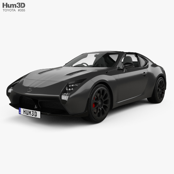 Toyota GR HV Sports 2017 3D model