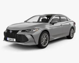 3D model of Toyota Avalon Limited Hybrid 2018