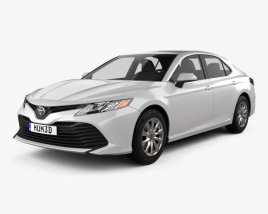 3D model of Toyota Camry LE 2017
