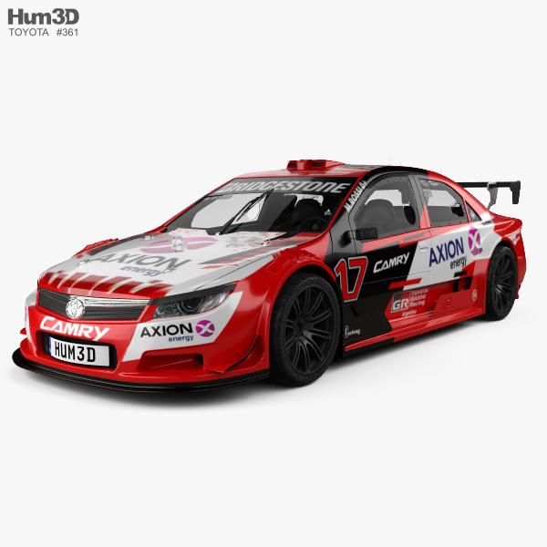 Toyota Camry Top Race 2018 3D model