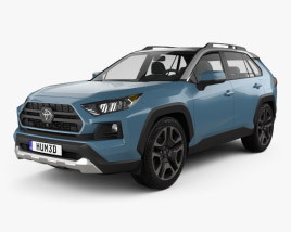 3D model of Toyota RAV4 Adventure 2018