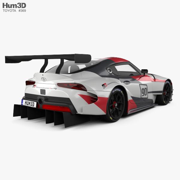 Toyota Supra Racing 2018 3D model