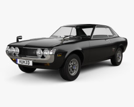 3D model of Toyota Celica 1600 GT Coupe 1973