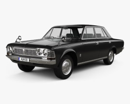 3D model of Toyota Crown 1967