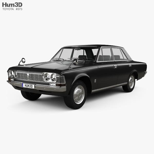 Toyota Crown 1967 3D model