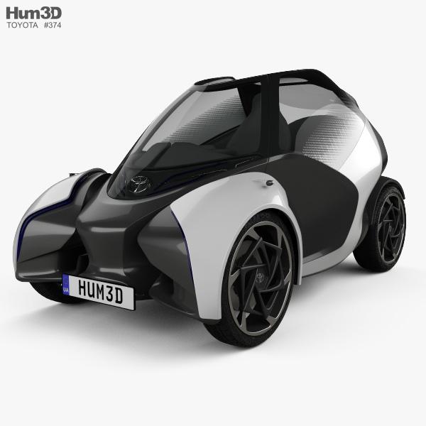 Toyota i-TRIL 2017 3D model