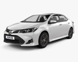 3D model of Toyota Corolla Sport 2018