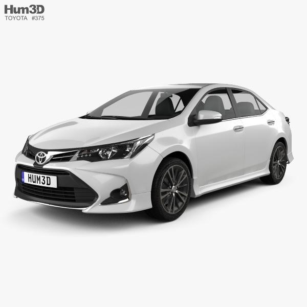 Toyota Corolla Sport 2018 3D model