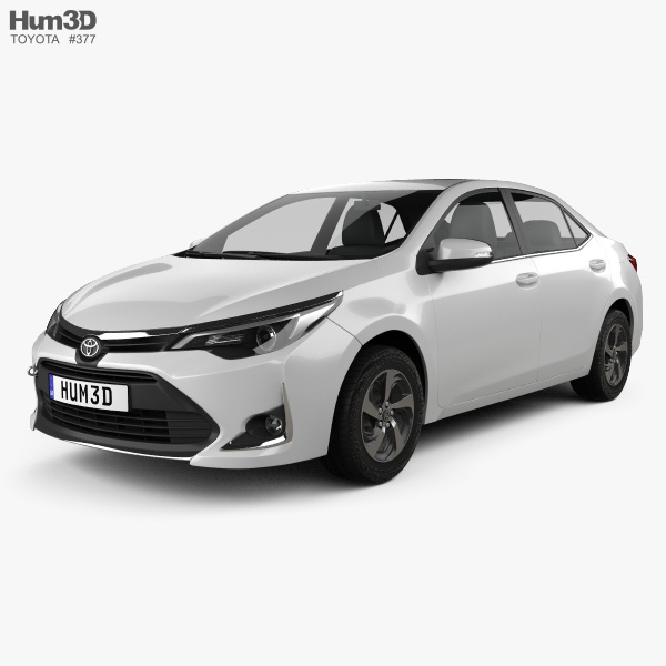 Toyota Corolla Levin CN-spec 2018 3D model