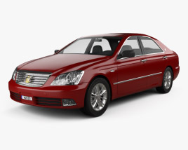 3D model of Toyota Crown Royal 2006