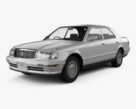 3D model of Toyota Crown 1993