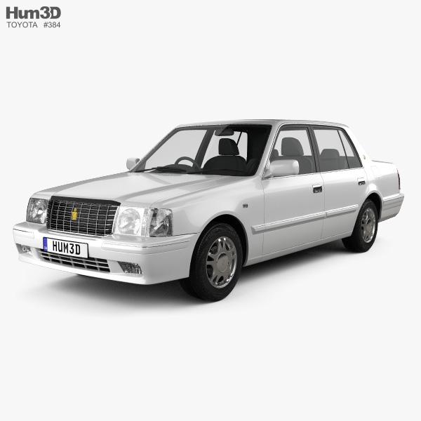 Toyota Crown Comfort 1995 3D model