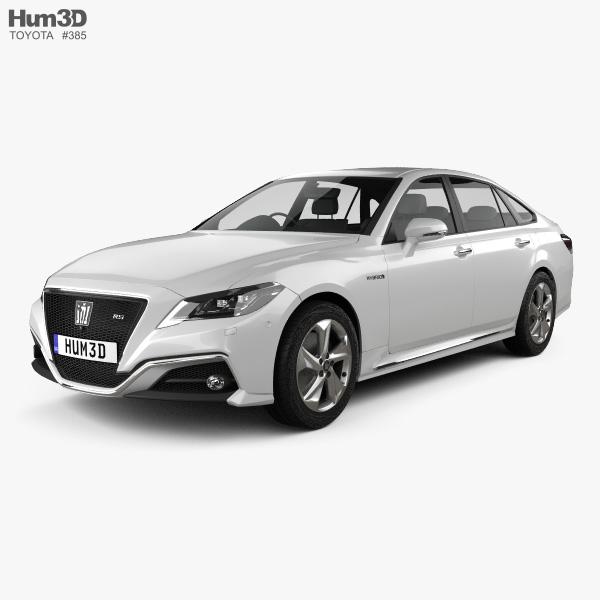 Toyota Crown RS Advance 2018 3D model