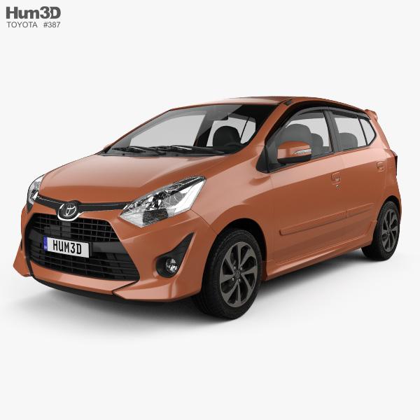 Toyota Wigo G 2018 3D model