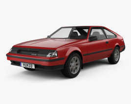 3D model of Toyota Celica liftback 1981