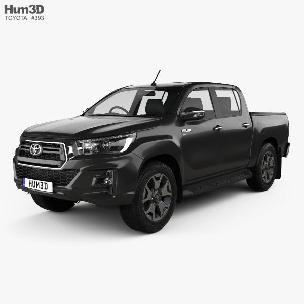 Toyota Hilux Double Cab L-edition 2019 3D model