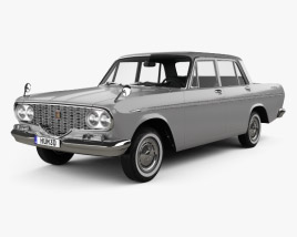 3D model of Toyota Crown 1962