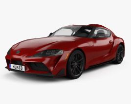 3D model of Toyota Supra US-spec 2019