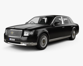 3D model of Toyota Century 2018