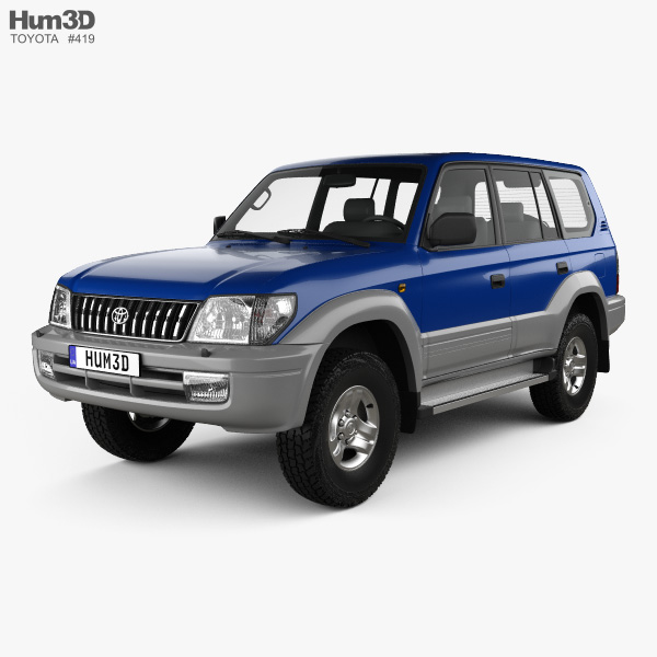 Toyota Land Cruiser Prado 5-door 1999 3D model