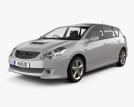 3D model of Toyota Caldina 2002