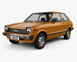 3D model of Toyota Starlet 1978