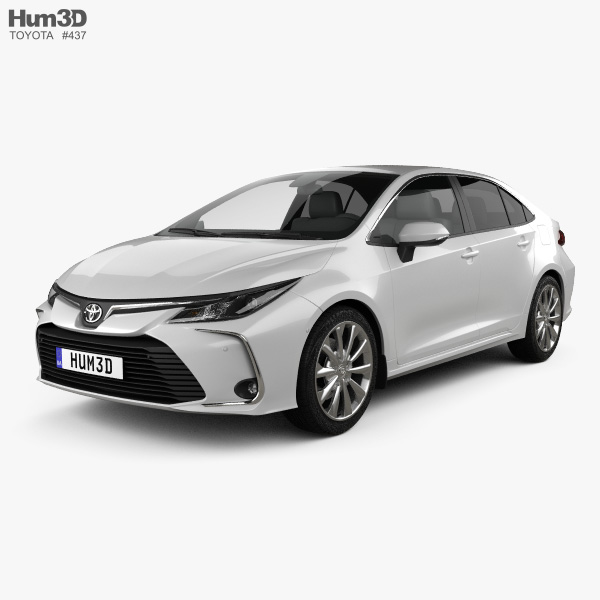 Toyota Corolla Altis 2020 3D model