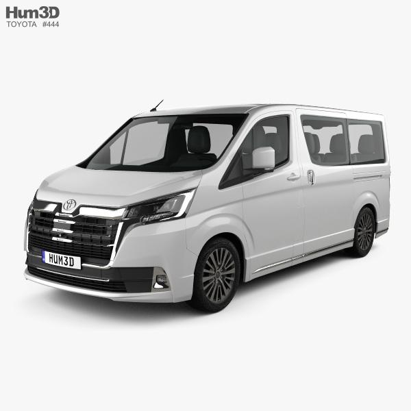 Toyota Granvia 2019 3D model