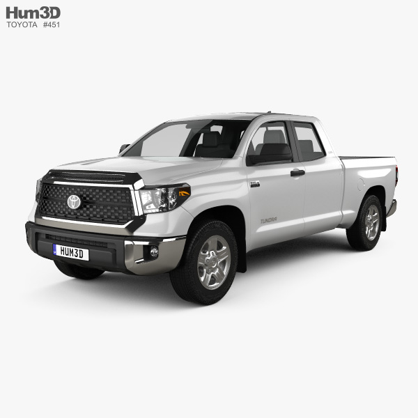Toyota Tundra Double Cab SR5 2013 3D model