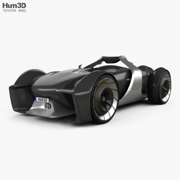 Toyota e-Racer 2019 3D model