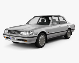 3D model of Toyota Cressida 1988