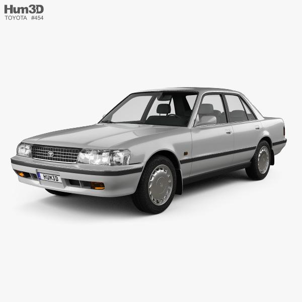 Toyota Cressida 1988 3D model