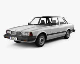 3D model of Toyota Cressida 1982
