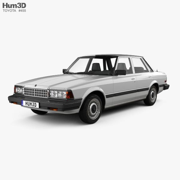 Toyota Cressida 1982 3D model