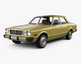 3D model of Toyota Cressida 1976