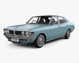 3D model of Toyota Mark II 1972