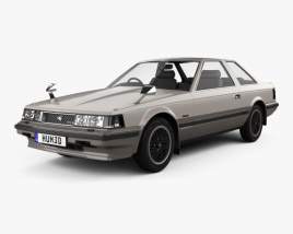 3D model of Toyota Soarer 1981