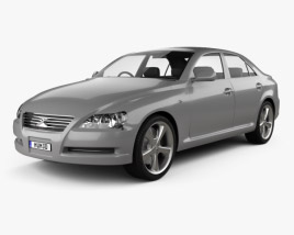 Toyota Mark X 2004 3D model