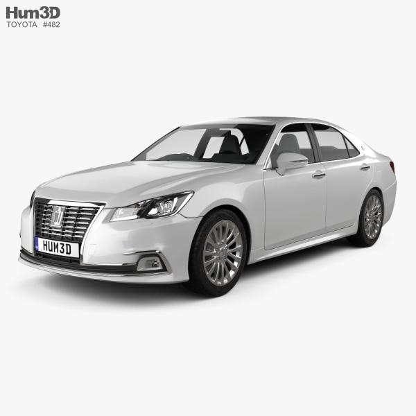 Toyota Crown Royal Saloon 2013 3D model