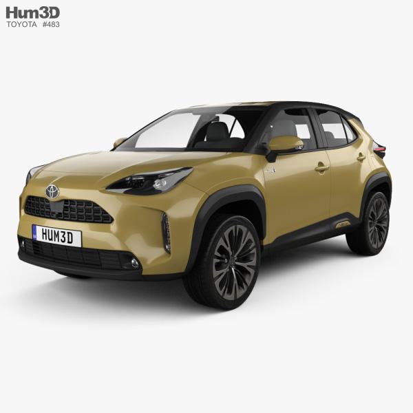 Toyota Yaris Cross Hybrid 2020 3D model