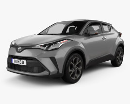 3D model of Toyota C-HR 2019