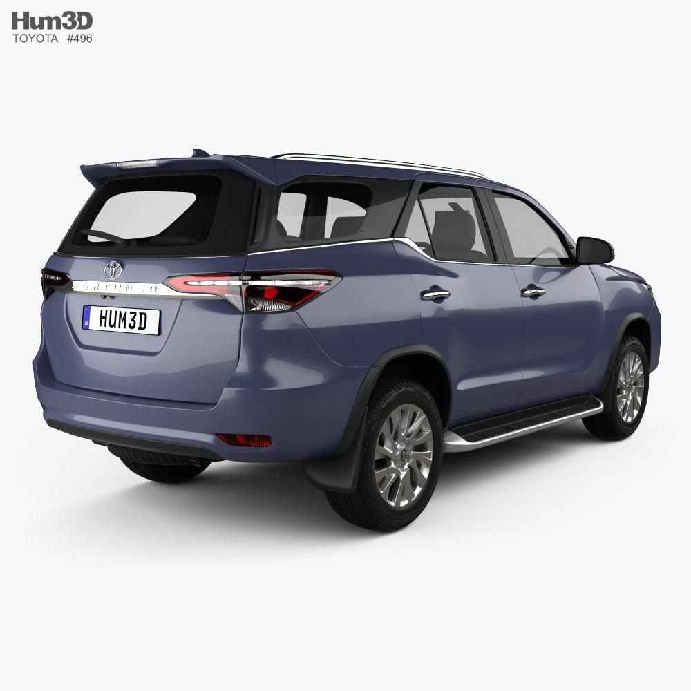 Toyota Fortuner 2020 3d model