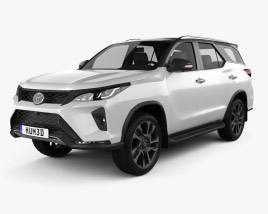 3D model of Toyota Fortuner Legender 2020