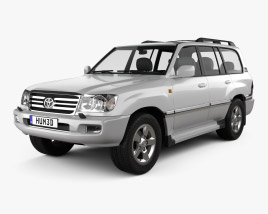 3D model of Toyota Land Cruiser VX 2005
