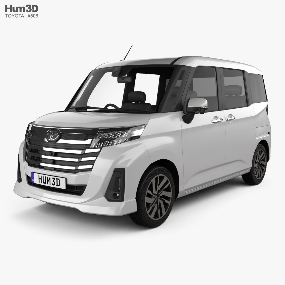 3D model of Toyota Roomy G 2020